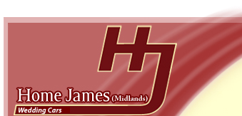 home james wedding cars logo